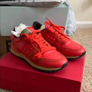 Valentino Sneaker red size 7